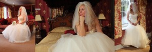Baroque inspired bridal suite at Manor Parc Hotel