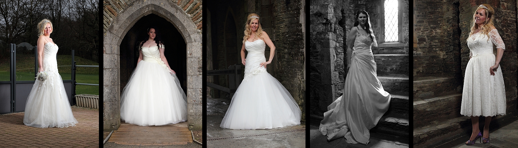 Commercial photography for Caru Brides, a Bridal Shop in Caerphilly